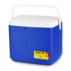 MJ MC012K 12L Portable Outdoor PE + EPS + PS Refrigerator / Thermos Box - White + Blue