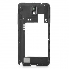 Replacement Plastic Middle Frame Rear Cover for Samsung Galaxy Note 3 N9005 - Black