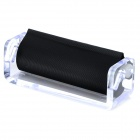Convenient Portable Plastic Cigarette Roller - Black