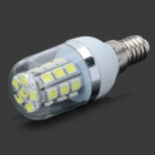 E14 5W 180lm 6500K 27-5050 SMD LED Cool White Light Corn Bulb