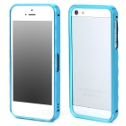 Protective Aluminum Alloy Bumper Frame Case for Iphone 5 / 5s - Light Blue