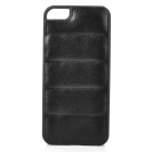 Protective PU Leather + PC Back Case for Iphone 5 / 5s - Black