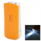 "5V ""5600mAh"" Li-ion Batter External Power Bank for Sony Xperia Z / L36H + More - Orange + White"