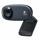 Logitech C310 USB 2.0 HD 720p 5.0MP камера ж / Mic - черный