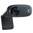 Logitech C310 USB 2.0 HD 720p 5.0MP webcam w / Mic - Negro