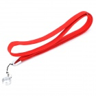 Polyester Fiber + Stainless Steel Carrying Strap for EGO E-cigarette - Red (50cm)