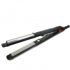 "LOOF JR-160 1.0"" LCD 2-in-1 Hair Styler Hair Straightener - Black (2-Flat-Pin-Plug / 110V)"