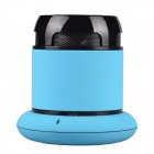 AVANT Bluetooth V3.0 + EDR Intelligent Voice Speaker w/ Charging Dock for Cellphone - Blue + Black