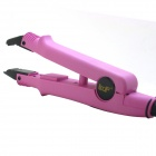 LOOF High Quality Salon Adjustable Hair Extension Fusion Pre-bonded Iron Tool - Purple (US Plug)