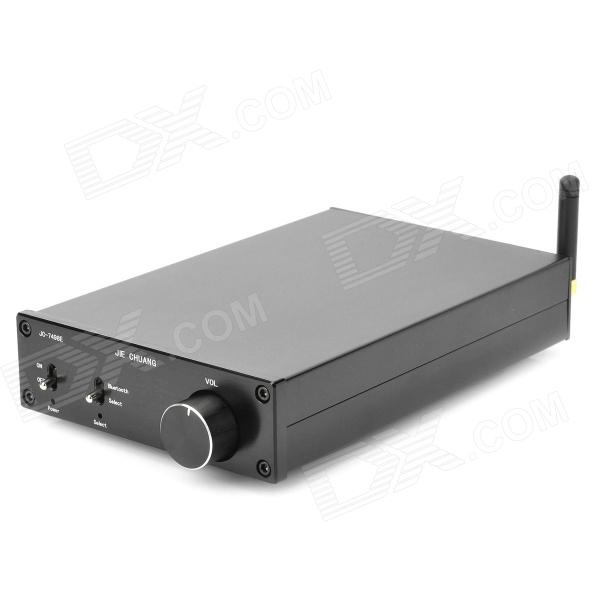 TDA7498E 160W x 2 Stereo Bluetooth Wireless Digital Power Amplifier HIFI - Schwarz + Silber