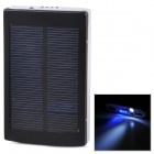Universal Portable 5V ''30000mAh'' Li-ion Battery Dual-USB Solar Powered Power Bank w/ LED Indicator