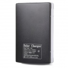 """30000mAh"" Dual-USB Solar Powered Power Bank w/ LED Indicator - Black"