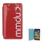 Stylish MM Color Series Jelly Bubble Protective Case Cover for Samsung Galaxy Note 3 N9000 - Red