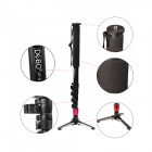 DEBO JF-5 Self-Standing Monopod with Support Base - Black