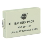 DSTE BP-110 Fully Decoded Battery for Canon HF R26 R28 R206 HF R20, R21 R200 Camcorders