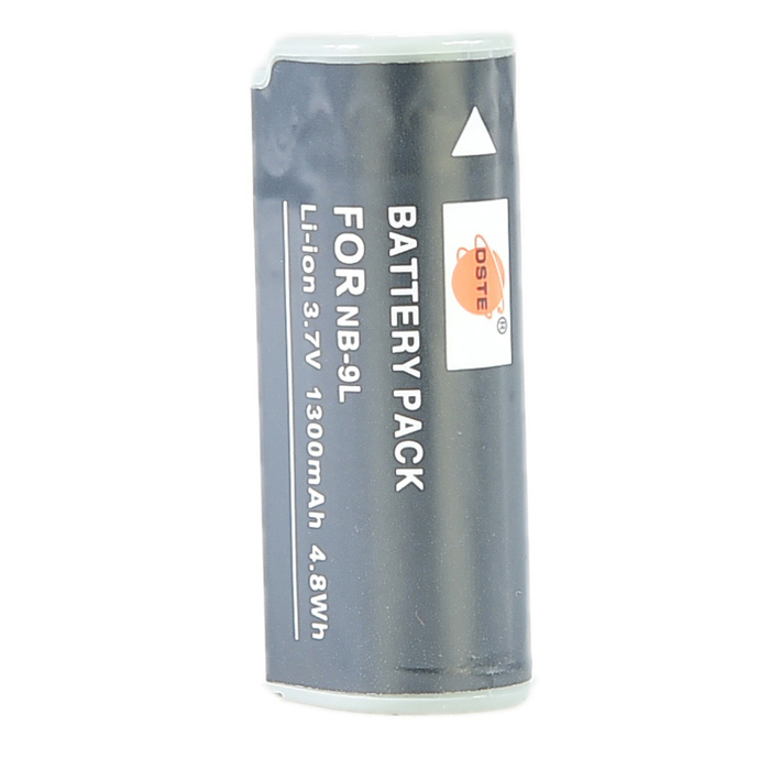 DSTE NB-9L Li-ion Battery for Canon IXUS 1000 1100 510 HS IXY 50S 51S 510 520 530 SD4500 IS Cameras фотоаппарат canon powershot sx730 hs silver 20 3 mp 1 2 3 max 5184x3888 40х zoom wi fi экран 3 300 г