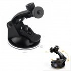"Universal 1/4"" Screw Swivel Suction Cup Fixing Holder for Car GPS/DV/SupTig/GoPro/SJ4000 - Black"