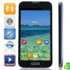 "F240W(F240) MTK6582 Quad-Core Android 4.2.2 WCDMA Bar Phone w/ 5.3"", 4GB ROM, GPS - Black + Blue"