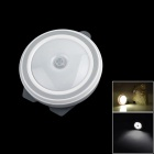 Energy Saving Light Control 0.45W 5-SMD 3528 20lm LED Body Infrared Dual Sensor Nightlight - White