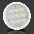 GU-4W GU10 4W 250lm 6500K 9-LED Cool White Light Spotlight