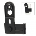 Universal Cellphone Lens Clip + 0.67X Wide Angle + Macro Lens + 180 Degree Fish Eye Lens - Black
