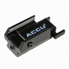 ACCU Adjustable Universal Red Laser Gun Aiming Sight - Black (1 x CR1/3N)