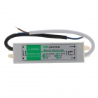 LED-D12010A 10W DC 12V 0.83A Waterproof LED Power Supply - Silver + White (90~260V)