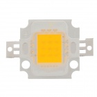 10W 1000lm 3200K Warm White Light Square Shaped LED Module - (9~10V)