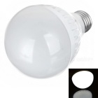 SHANGHAN E27 9W 270lm 6500K 18-LED White Light Lamp Bulb - White (AC 220~240V)