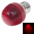 HL-16 E27 3W 80lm 700nm 16-LED Red Light Lamp Bulb - Red (AC 220~240V)
