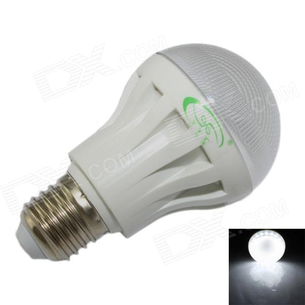 XinYiTong E27 5W 450lm 6500K 18 x SMD 2835 LED White Light Radar Sensor Bulb Lamp - (85~265V)