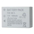 Canon NB7L Compatible 7.4V 1200mAh Battery Pack for Canon G10