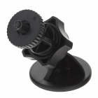 H33B 360 Degree Rotation Mini 3M Screw Head Base for Mobile / GPS - Black