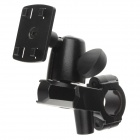 M02 Aluminum Alloy Four Export Base for Mobile / GPS - Black