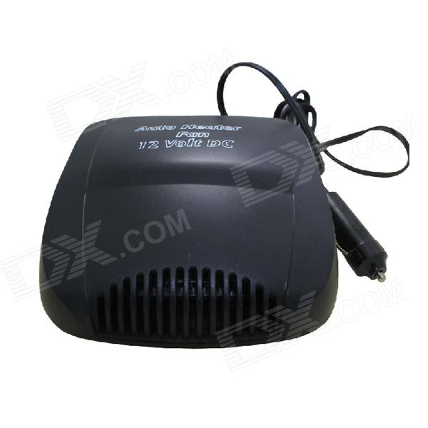 цена на 200W Auto Car Portable Heater Fan-Dryer / Defrost - Black (12V)