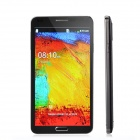 "M-HORSE N9000 Android 2.3 Bar Phone w/ 5.5"" / Wi-Fi / Dual Camera - Black + Silver"