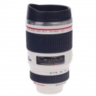 Creative Stainless Steel Simulation Dummy DSLR Lenses Thermos Mug Cup w/ Cup Lid (400ml)