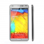 "M-HORSE N9000 Android 2.3 Bar Phone w/ 5.5"" / Wi-Fi / Dual Camera - White + Silver"