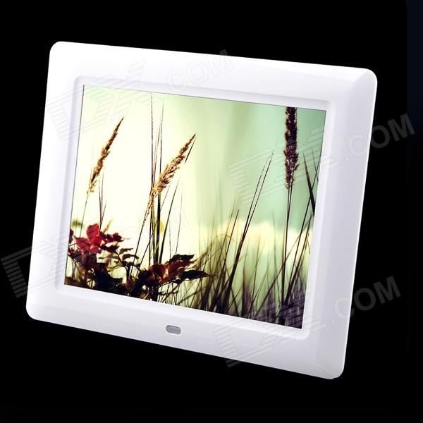 "8"" TFT Desktop Digital Photo Frame w/ SD / MMC / Earphone / DC In Slot"