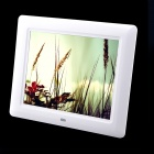 "8"" TFT Desktop Digital Photo Frame w/ SD / MMC / USB / Earphone / DC In Slot - White (16MB)"