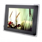 "12"" LED Desktop Digital Photo Frame w/ SD / MMC / USB / Earphone / DC In Slot - Black (16MB)"