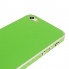 Elonbo F91E Decorative Protective Carbon Fiber Cover Skin Stickers Set for iPhone 5 - Green