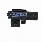 ACCU Red Laser Gun Aiming Sight w/ Pressure Switch / Mount - Black (1 x CR123A)