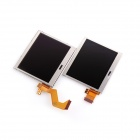 008 C-22 Replacement Upper + Lower TFT LCD Screen Module for NDS Lite - Silver (2-LCD Set)