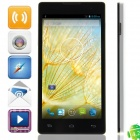"JK-11(G700-T00) MTK6582 Quad-core Android 4.2.2 WCDMA Bar Phone w/ 5.0"", Wi-Fi, GPS - Black + White"