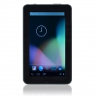 "HAVIT HV-T712 7.0"" Dual-Core Android4.2.2 Tablet PC w/ 512MB RAM, 4GB ROM, TF, Wi-Fi - White + Black"