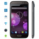 "Mysaga T1 Android 4.2 Quad-Core WCDMA Bar Phone w/ 5.0"", Wi-Fi, GPS, 13 MP Camera - Black"
