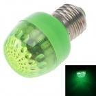 HL-16 E27 3W 80lm 560nm 16-LED Green Light Lamp Bulb - Green (AC 220~240V)