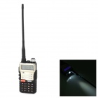 TDX Q8.CH Water Resistant CTCSS / DCS Dual-Band Walkie Talkie - Black + Champagne