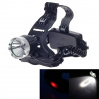 Sky Eye K11-2 Cree XM-L T6 800lm 3-Mode White Light Headlamp - Black + Silver (2 x 18650)